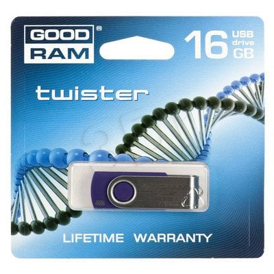GOODDRIVE FLASHDRIVE 16GB USB 2.0 Twister Purple