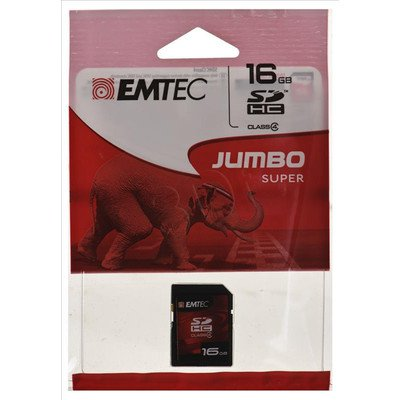 Emtec SDHC Jumbo Super 16GB Class 4
