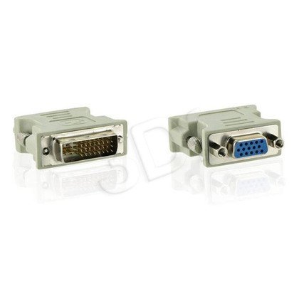 4WORLD ADAPTER DVI-I - VGA (24M/15F) DVI-I - D-SUB
