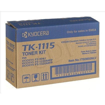 KYOCERA TONER CZARNY TK-1115=TK1115=1T02M50NL0