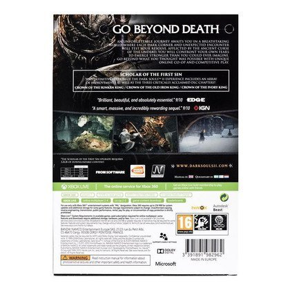 Gra Xbox 360 Dark Souls II Scholar of the First Sin