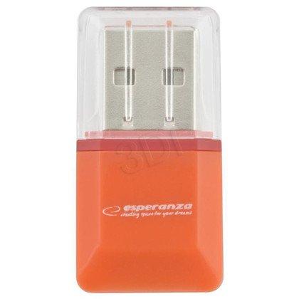ESPERANZA CZYTNIK KART MicroSD / (MicroSD PenDrive)