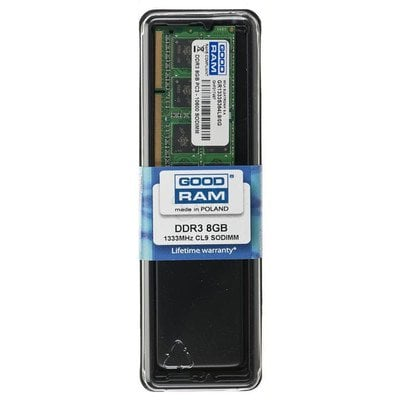 GOODRAM SO-DIMM DDR3 8192MB PC1333 CL9