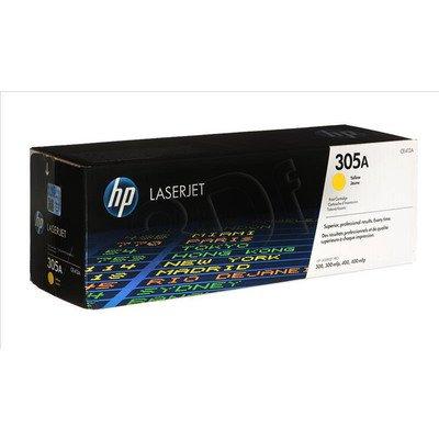 HP Toner Żółty HP305A=CE412A, 2600 str.