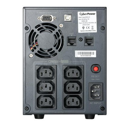 UPS CYBERPOWER Value2200EILCD (VI, Tower, 2200VA, 1320W, 6xIEC, FL1min/HL6min)
