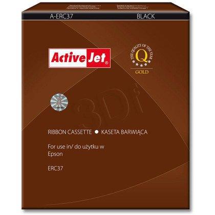 ActiveJet A-ERC37 kaseta barwiąca kolor czarny pasuje do drukarki igłowej Epson (zamiennik ERC37)