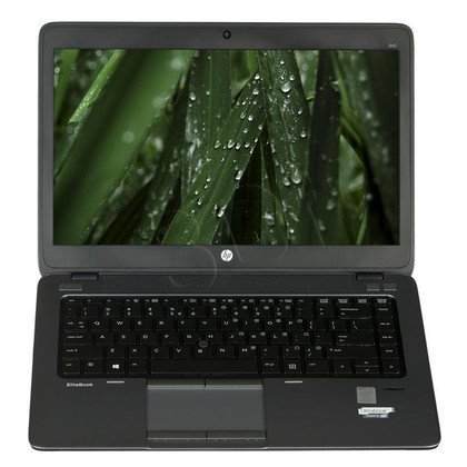 "HP EliteBook 840 G2 i7-5500U 4GB 14"" FHD 500GB HD5500 Win7P Win8.1P Szary J8R51EA 3Y"