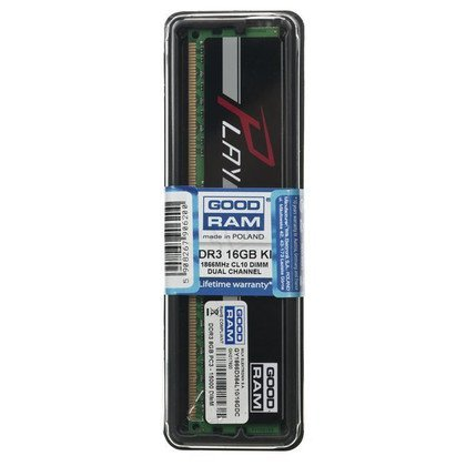 GOODRAM DDR3 PLAY 16GB PC1866 2x8GB BLACK CL10