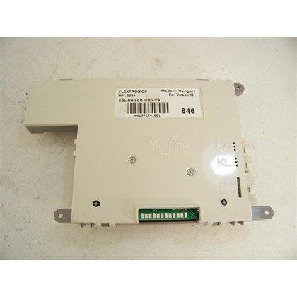 Moduł/Płytka elektroniczna do zmywarki Whirlpool (481227658167)