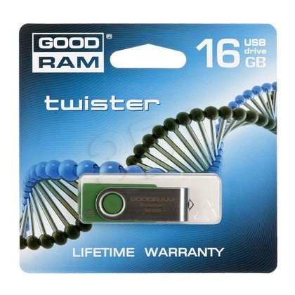 GOODDRIVE FLASHDRIVE 16GB USB 2.0 Twister D.Green