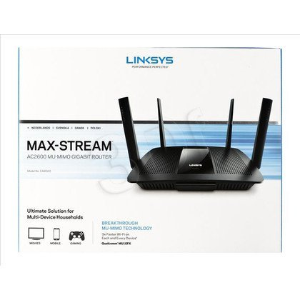 Linksys router EA8500 ( WiFi 2,4/5GHz)