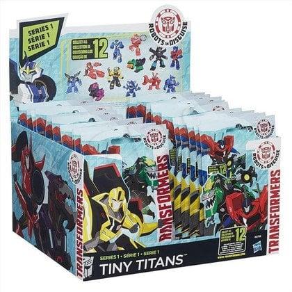TRA TRANSFORMERS TINY TITAN HASBRO B0756