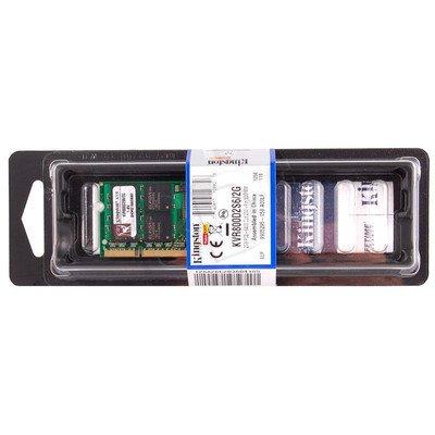 KINGSTON SODIMM DDR2 800MHz KVR800D2S6/2G