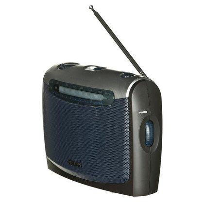 Radio przenośne Philips AE2160/00C czarno-srebrny