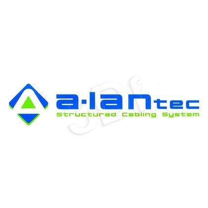 ALANTEC Puszka natynk 2x keystone z przesłoną