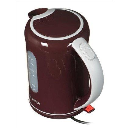 Czajnik elektryczny Bosch TWK7604 (1,7l 2200W Bordowy)