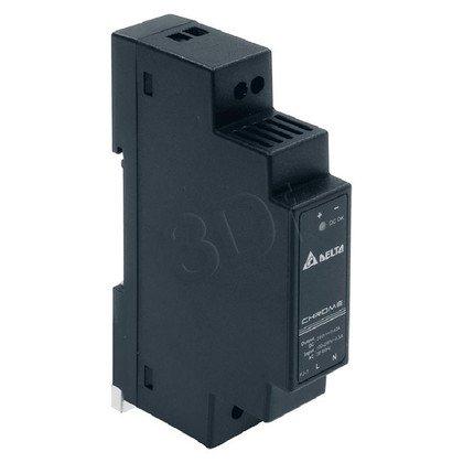Zasilacz na szynę DIN przeznaczony do aplikacji domowych DELTA DRC-24V10W1AZ (24V 10W) czarny