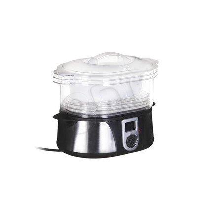 Parowar TRISTAR VS-3908 (1000W Inox-Czarny 12l)