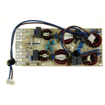 Moduł elektroniczny płyty indukcyjnej zasilania Whirlpool (481061522183)