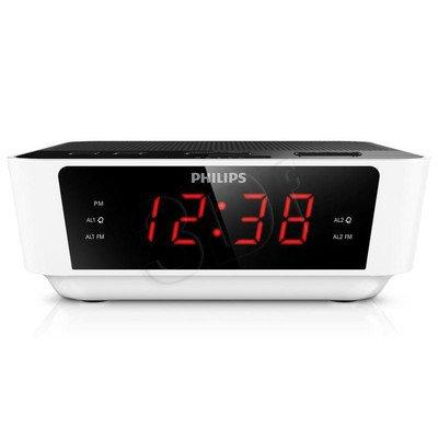 Radiobudzik Philips AJ3115/12 biało-czarny