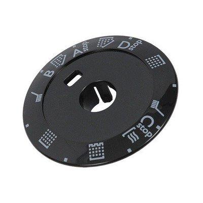Przyciski i pokrętła do zmywarek Wskaźnik / Pierścień pokrętła, czarny programatora do zmywarki Electrolux 1524177209