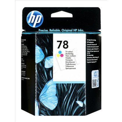HP Tusz Kolor HP78=C6578D, 450 str., 19 ml