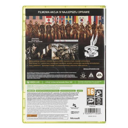 Gra Xbox 360 Medal of Honor Warfighter Classic Hit2