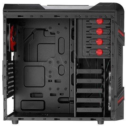 OBUDOWA AEROCOOL GT-R BLACK - USB3.0 - CZARNA