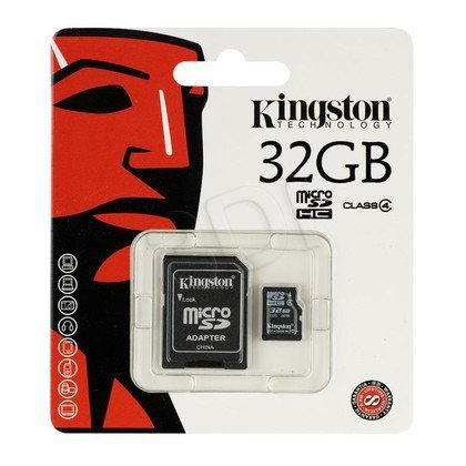 KINGSTON MICRO SD SDC4/32GB