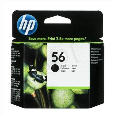 HP Tusz Czarny HP56=C6656AE, 450 str., 19 ml