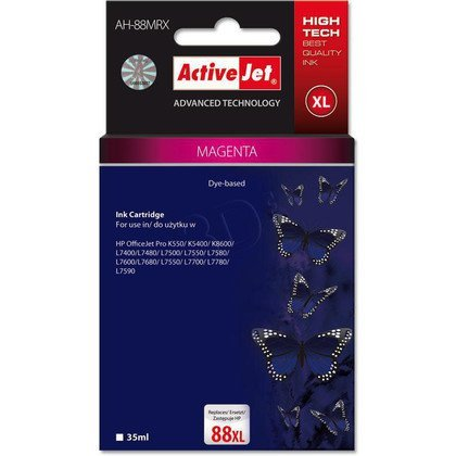 ActiveJet AH-88MRX (AH-392) tusz large magenta do drukarki HP (zamiennik HP 88XL C9392AE)