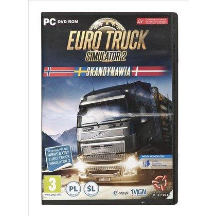Gra PC Euro Truck Simulator 2 Skandynawia