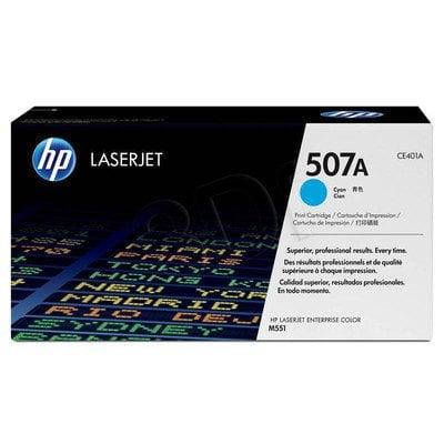 HP Toner Niebieski HP507A=CE401A, 6000 str.