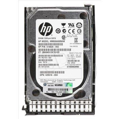 HP 500GB 6G SATA 7.2k 2.5in SC MDL HDD