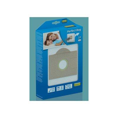Worki De Longhi Compacto/Ploor Line XT/ Radel X/XD/XTL/XTS/XW - 4 szt. + filtr (RMB04K)