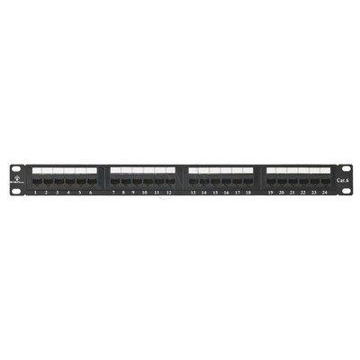 ALANTEC Patch panel UTP 24 porty LSA kat.6 z półką