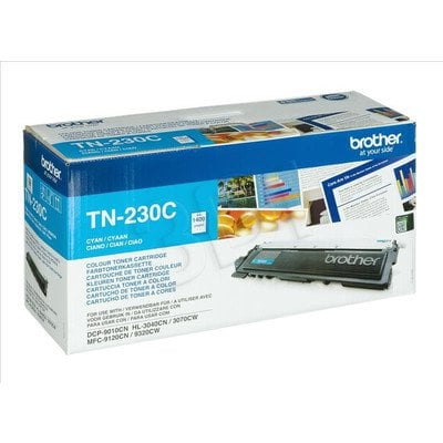 BROTHER Toner Niebieski TN230C=TN-230C, 1400 str.
