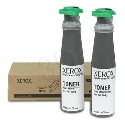 XEROX Toner Czarny 106R01277=WorkCentre WC5016, WC5020, 2*6300 str.
