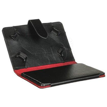 """ART Etui do tabletu AB-107 7"""" czarno-czerwone"""