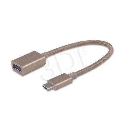 INNERGIE ADAPTER USB-C DO USB 3.0 ZŁOTY