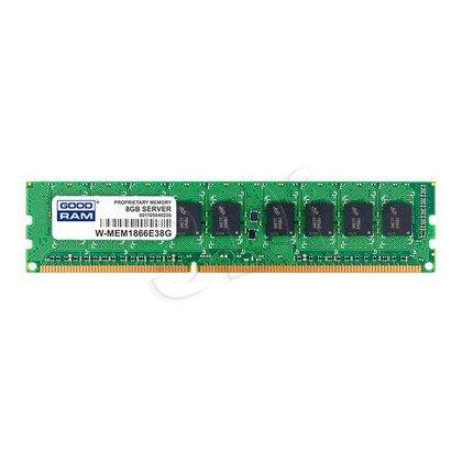 GOODRAM 8GB DDR3 ECC 1866MHz W-MEM1866E38G