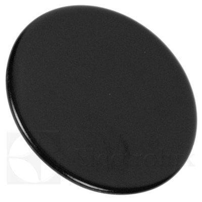 Górna część średniego palnika płyty grzejnej, czarna (3540139080)