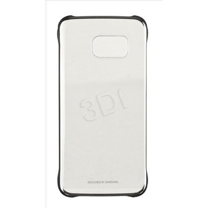 SAMSUNG ETUI CLEAR COVER S6 EDGE SREBRNY
