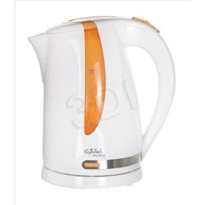 Czajnik elektryczny Gallet BOU 743 WO (1,7l 2200W Biało-pomarańczowy)