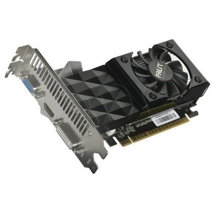 PALIT GeForce GT 730 2048MB DDR3/128bit DVI/HDMI PCI-E (700/1400)
