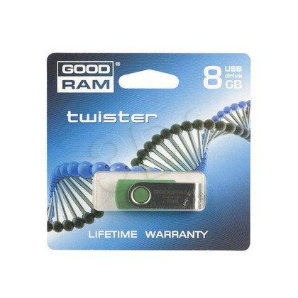 GOODDRIVE FLASHDRIVE 8192MB USB 2.0 TWISTER D.Green