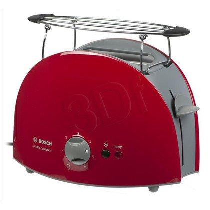Toster Bosch TAT6104 (900W/czerwono-jasnoszary)