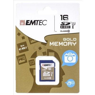 Emtec SDHC ECMSD16GHC10PH 16GB Class 10,UHS Class U1