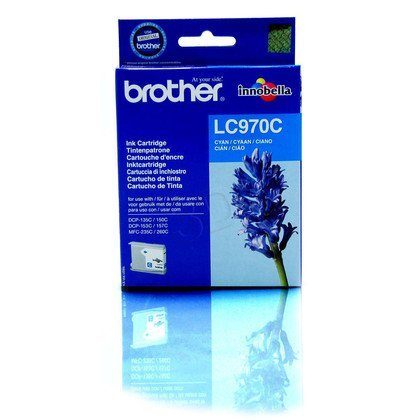 BROTHER Tusz Niebieski LC970C=LC-970C, 300 str.