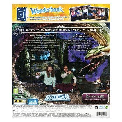 Gra PS3 Wonderbook Księga Eliksirów + książka